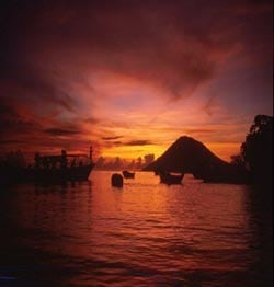 Bunaken Tour Sunset